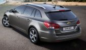 Chevrolet Cruze универсал тест-драйв видео